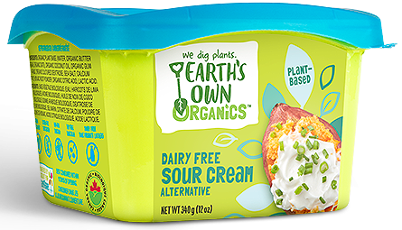 Plant Based Sour Cream by Earth's Own 340g
