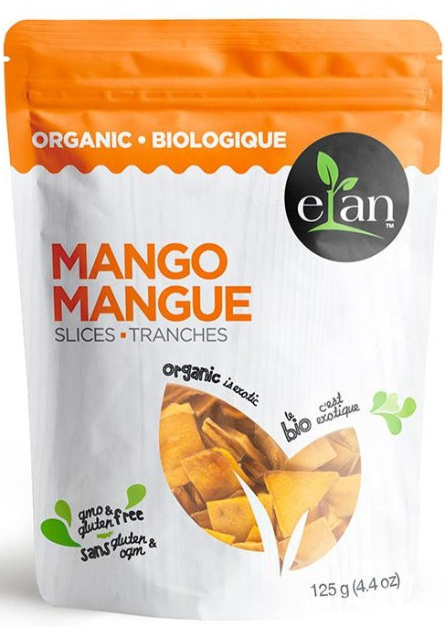 Dried Mango Slices by Elan 125g Organic