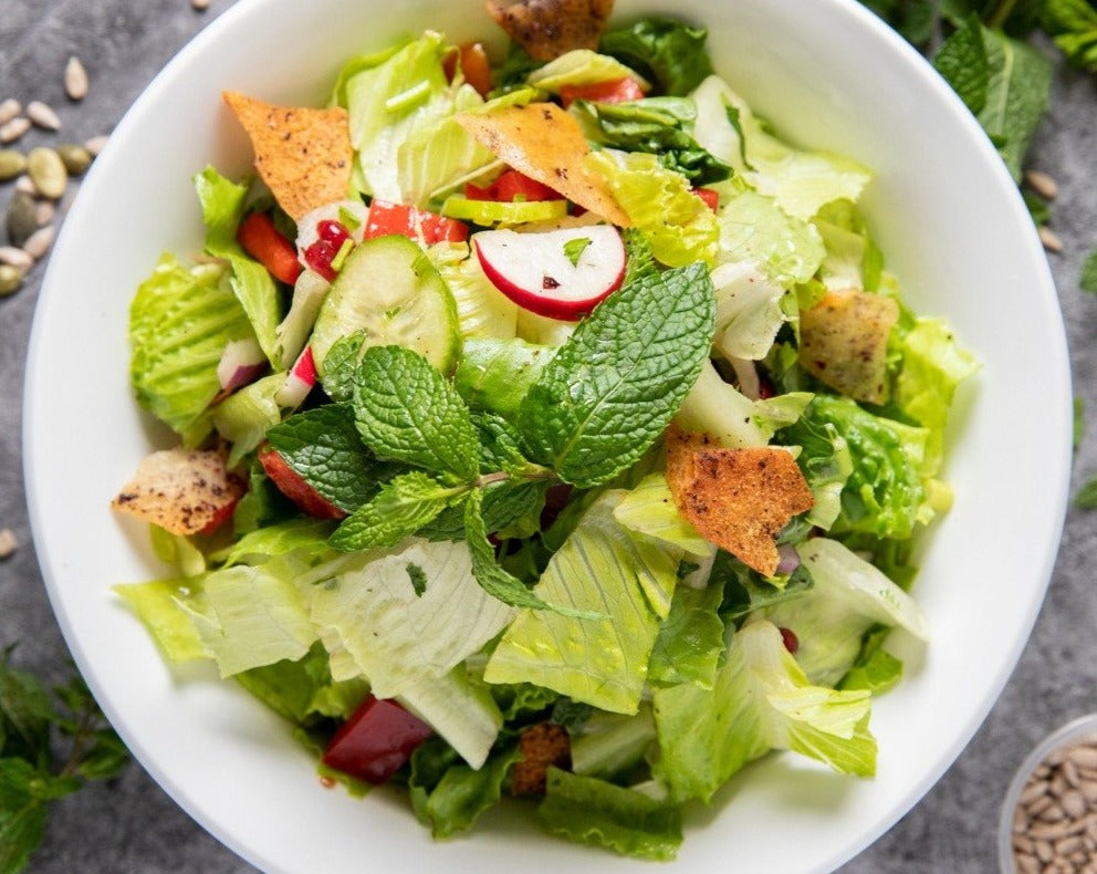 The Fattoush Salad by Vinaigrette