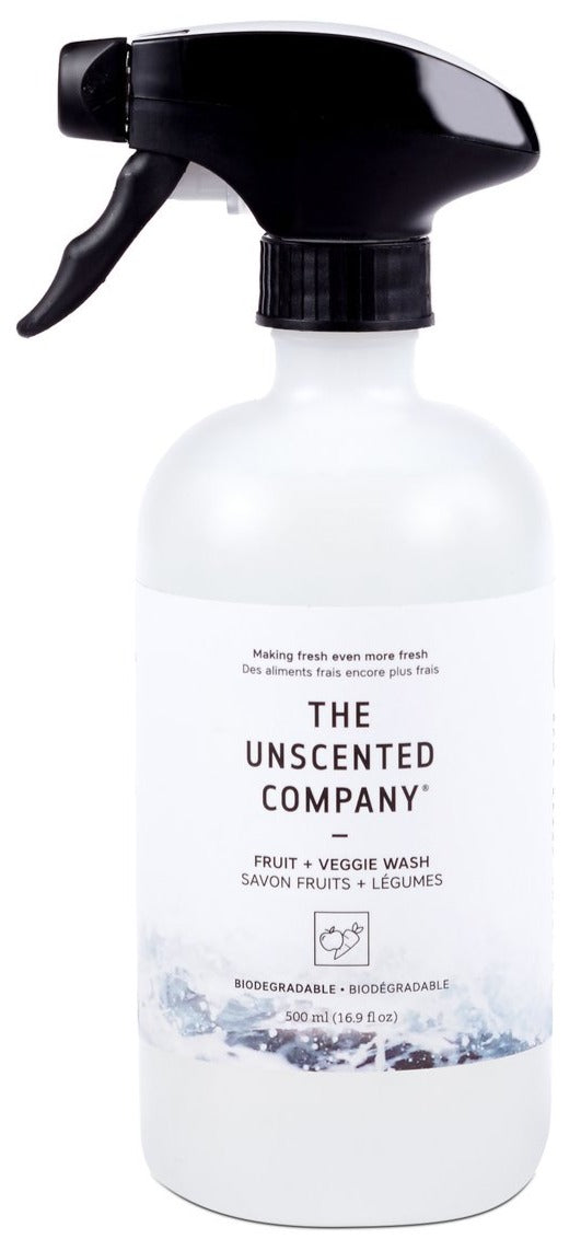 Fruit and Veg Spay Wash by The Unscented Company 500ml