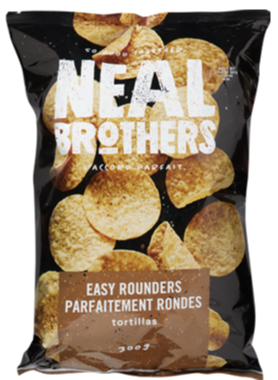 Easy Rounders Tortillas by NEAL Brothers 300g