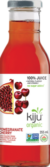 Organic Pomegranate Cherry Juice by Kiju 355ml
