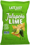 Jalapēno LIME Classico Tortilla Chips by Late July 156g
