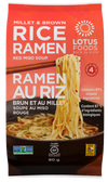Millet and Brown Rice Ramen with Miso Soup, 80g