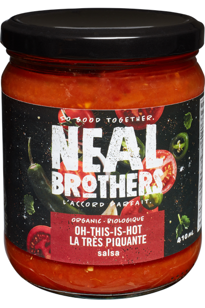 Organic Oh-This-Is-Hot Salsa by NEAL Brothers 410 ml