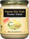 Tahini Organic Fair Trade by Nuts to You 500g