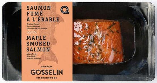 Maple Smoked Antarctic Salmon, 150g. Sustainable, Fresh