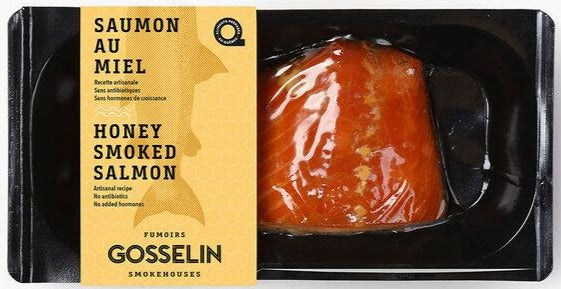 Honey Smoked Antarctic Salmon, 150g. Sustainable, Fresh