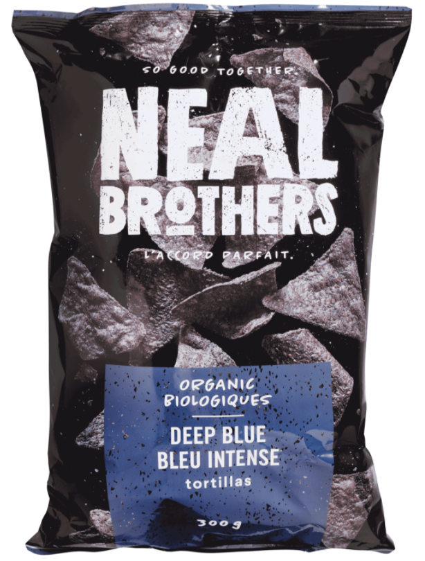 Organic Deep Blue Tortillas by NEAL Brothers 300g