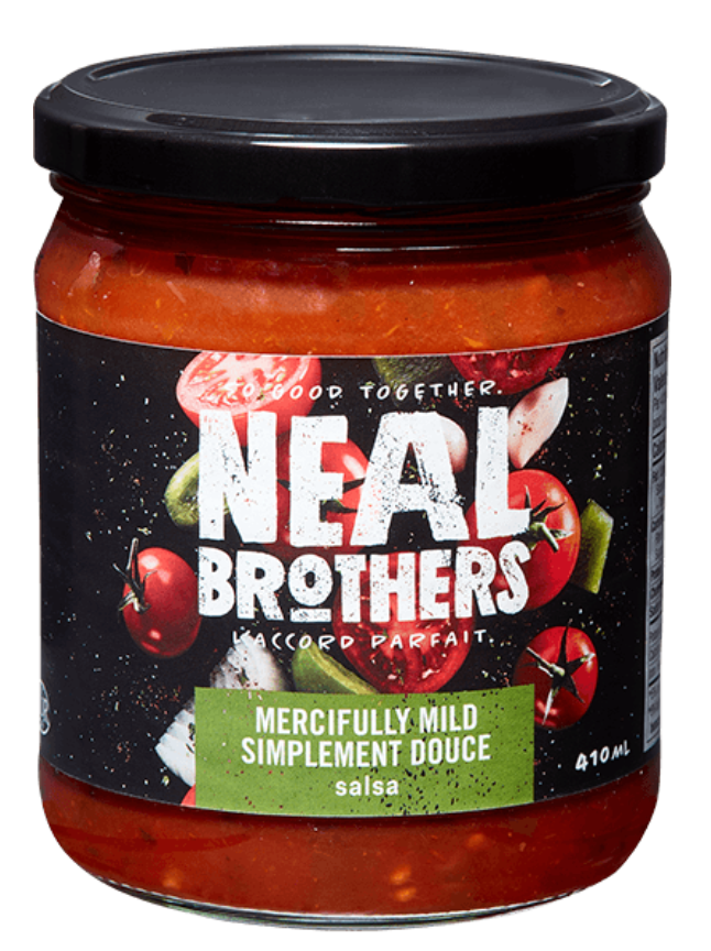 Organic Mercifully Mild Salsa by NEAL Brothers 410 ml