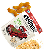 Smokehouse Crunchy Almond Snack with Probiotics by A'mond, 85g