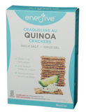 Rock Salt Quinoa Crackers by Enerjive, 130g
