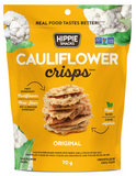 Original Cauliflower Crisps by Hippie Snacks, 70g