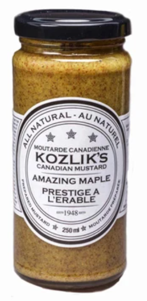 Amazing Maple Mustard by Kozlik's 250ml