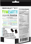 Organic Black Licorice by Yum Earth, 142g