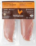 Chicken Breast, 450g avg. $22.02/kg, from  Ferme Des Volitigeurs in Quebec. Price adjusted according to actual weight | Poitrine de poulet (environ 450 g) 22.02$/kg du Ferme des voltigeurs, Quebec.  Prix ajusté en fonction du poids réel