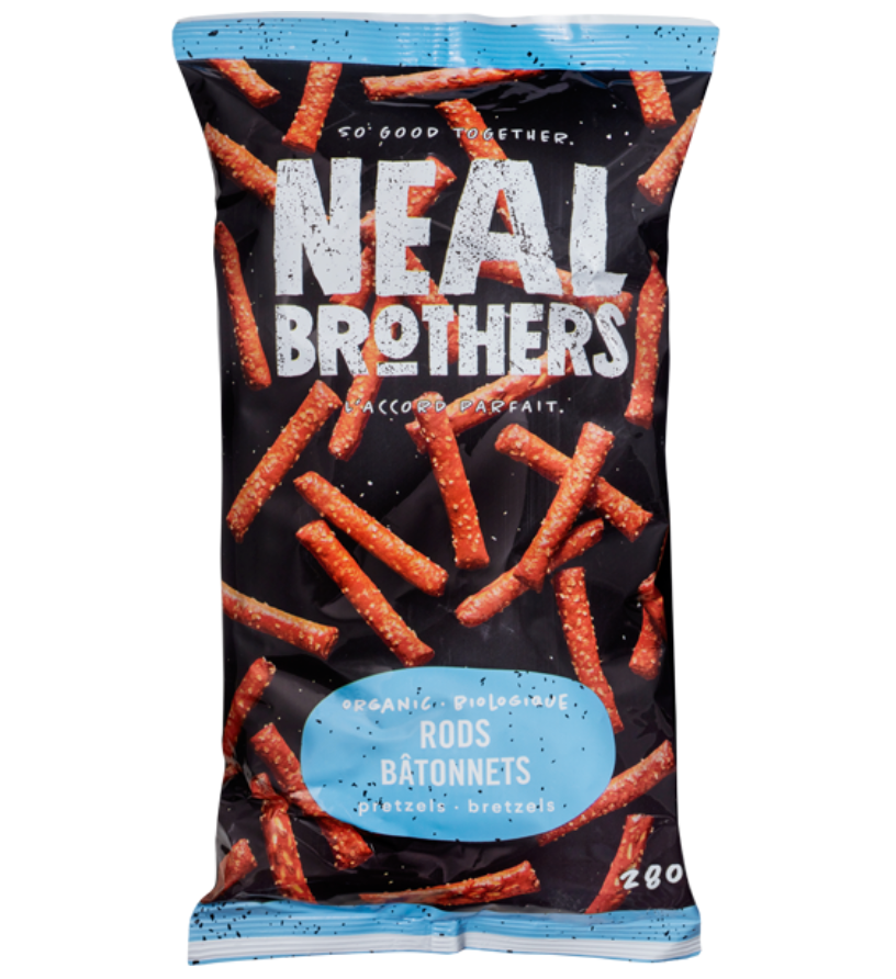 Organic Pretzel RODS by NEAL Brothers 280g