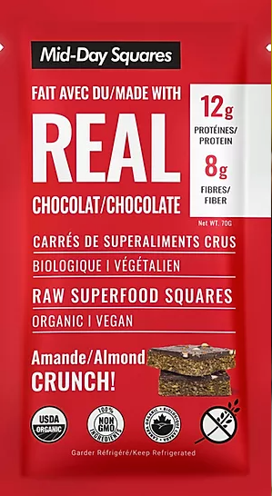 12 Pack Almond Crunch! Mid-Day Squares
