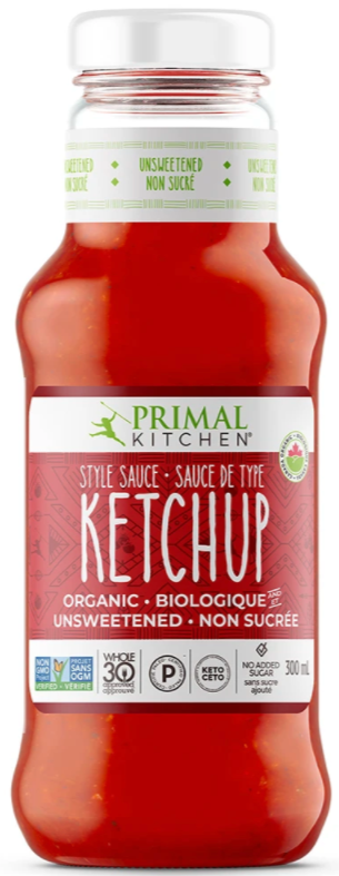 Organic Unsweetened Ketchup by Primal Kitchen
