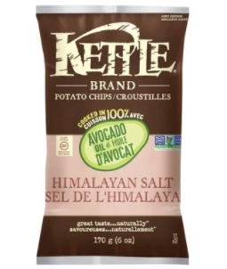 Avocado Oil Himalayan Salt Potato Chips by Kettle Brand 170g
