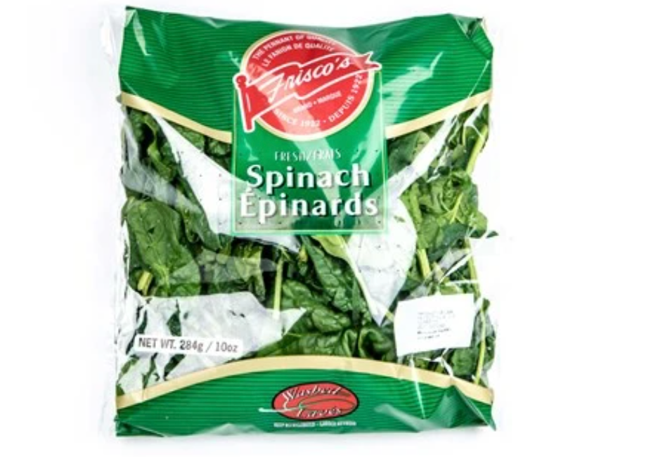 Spinach bag, 284g