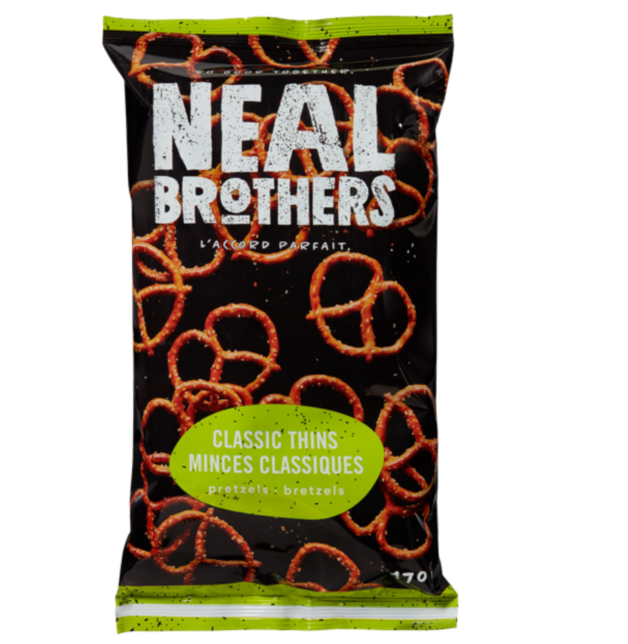Thin Twists Pretzels by NEAL Brothers 170g