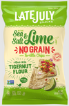No Grain Sea Salt and Lime Tortilla Chips by Late July 156g