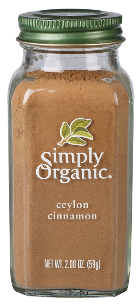 Ceylon Cinnamon by Simply Organic 59g
