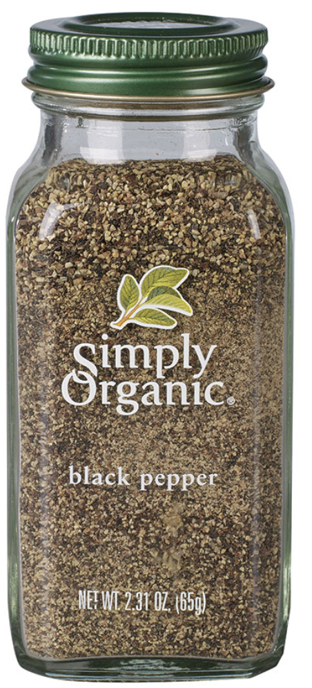 Black Pepper by Simply Organic 75g