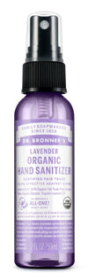 Lavender Organic Hand Sanitizer by Dr. Bronner's