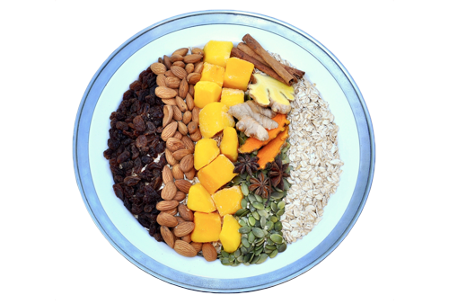 WELCOME - Sweet Spice and Mango Oat Bowl