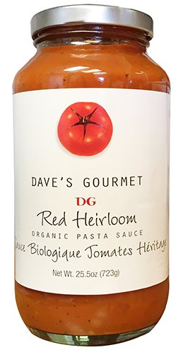 Red Heirloom Tomatoes Organic by Dave's Gourmet 723g