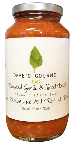 Roasted Garlic and Sweet Basil Organic by Dave's Gourmet 723g