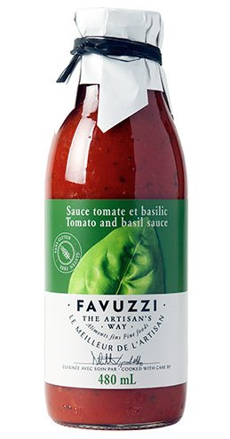 Basil Sauce by Favuzzi 480ml