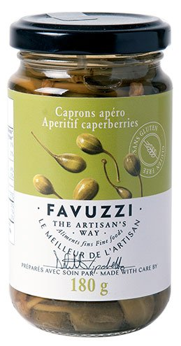 Aperitif Caperberries by Favuzzi 180g