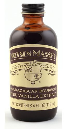 Bourbon Madagascar Pure Vanilla Extract by Nielsen Massey 118ml (4oz)