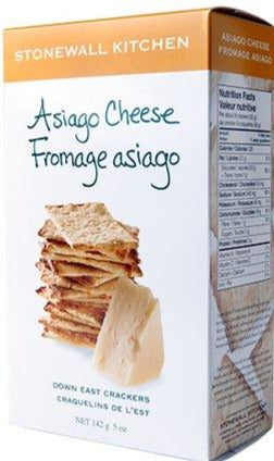 Asiago Cheese Down East Crackers by Stonewall Kitchen 142g
