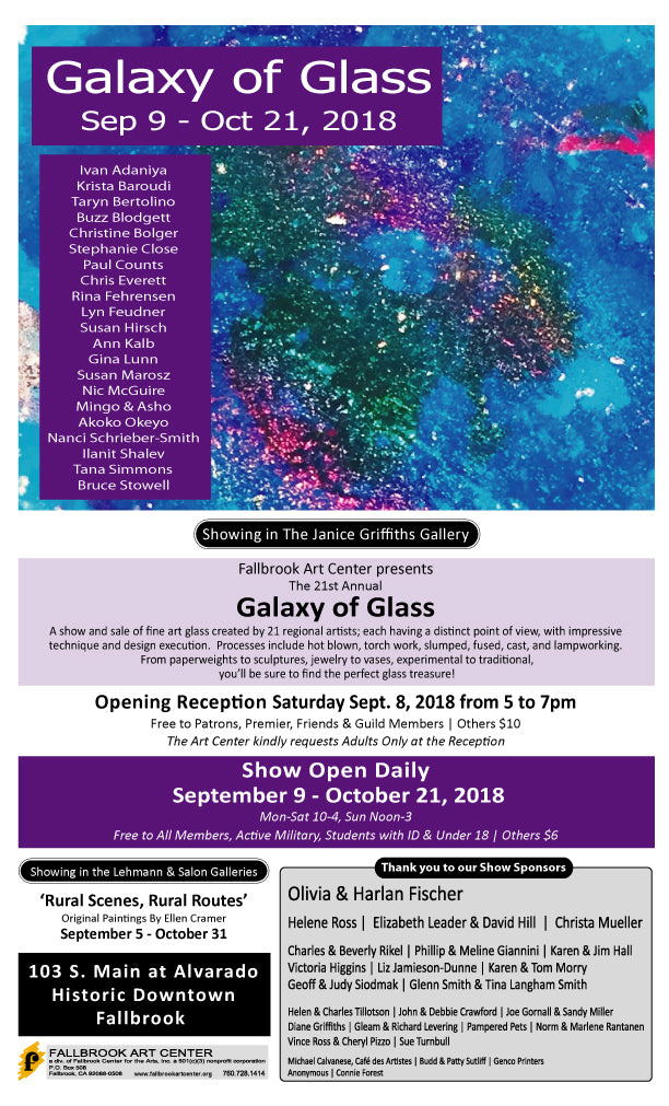 Galaxy of Glass 2018