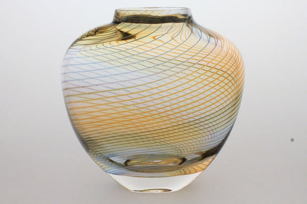 Ribbed Overlay Vase *NEW*