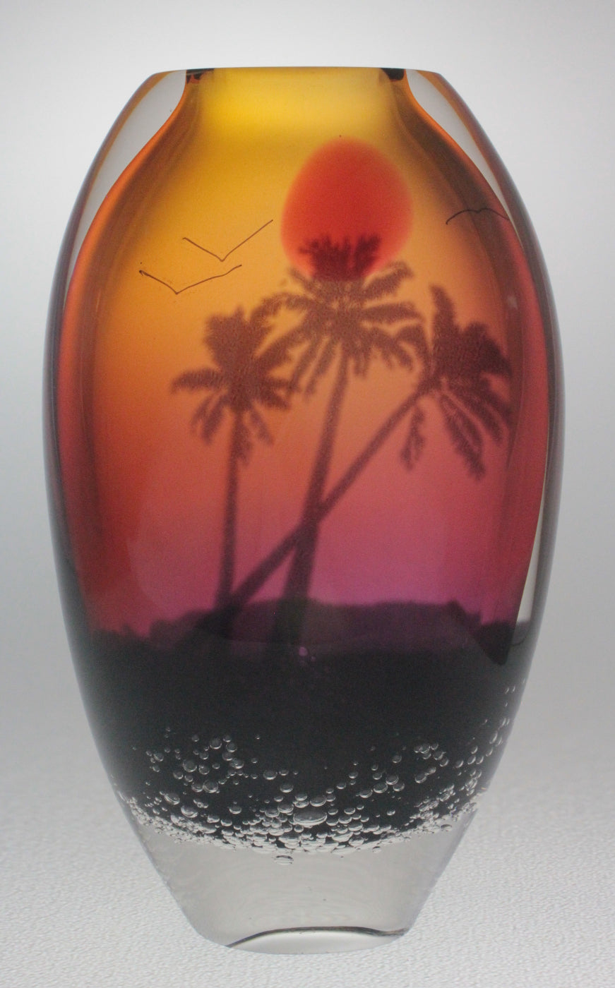 Tropical Sunset Vase- SSGV1