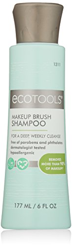 Ecotools Makeup Brush Cleansing Shampoo, 6 Ounce - FitsByDesign