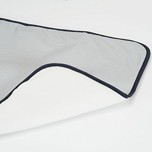 Household Essentials 129 Portable Ironing Blanket Mat- Heat Resistant - Grey - FitsByDesign