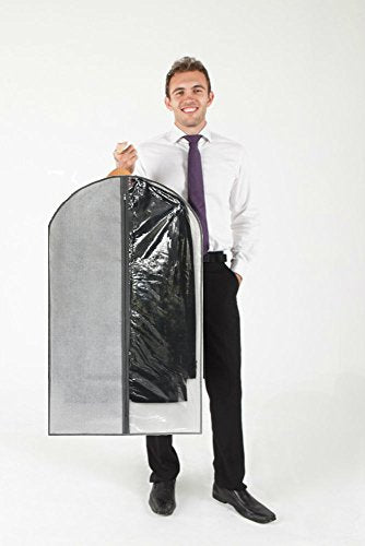 Perfect Garment Bags for Suits - Dress Suit Bag Set for Easy Storage or Travel - FitsByDesign