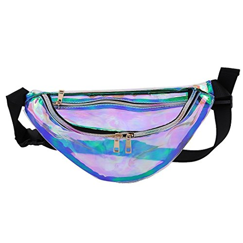 Holographic Water Resistant Fanny Pack - FitsByDesign