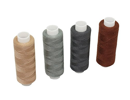Tong 30 Colour Spools Sewing Thread 250 Yards Each Polyester All Purpose for Hand and Machine Sewing - FitsByDesign