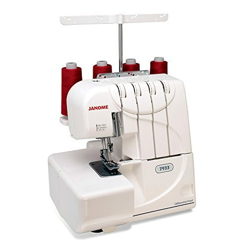 Janome 7933 Horizon Serger with Exclusive Bonus Bundle - FitsByDesign