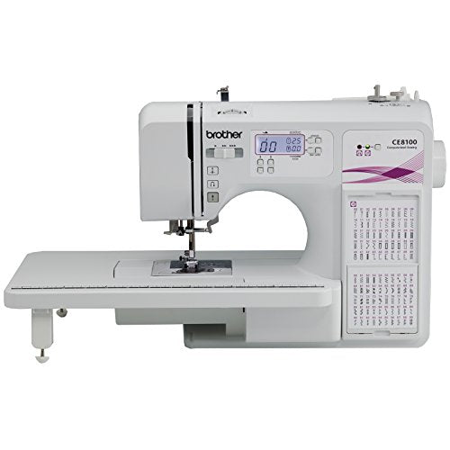 Brother CE8100 Sewing & Quilting Machine with Bonus Foot Pack - FitsByDesign