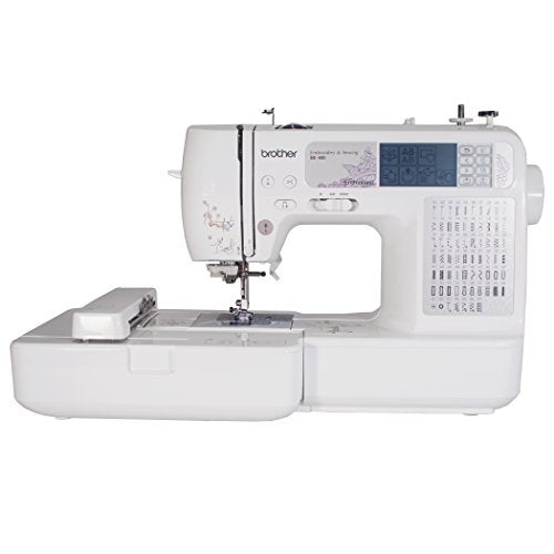 Brother SE400 Computerized Sewing and 4x4 Embroidery Machine - FitsByDesign