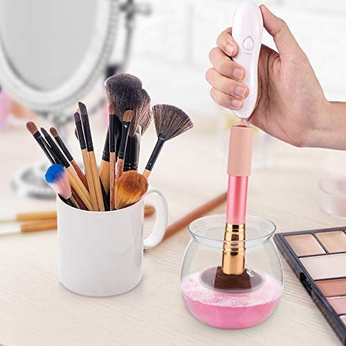 Makeup Brush Cleaner, LARMHOI Electric Makeup Brush Cleaner and Dryer - FitsByDesign