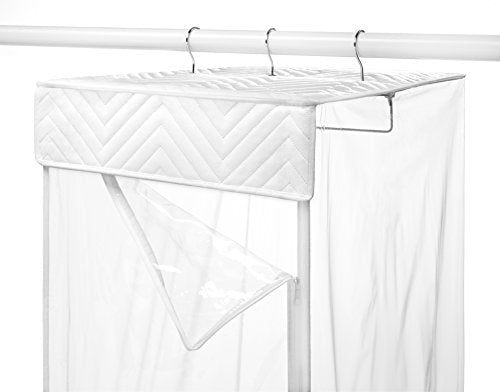 Whitmor Hanging Garment Bag, Zippered Closet - FitsByDesign